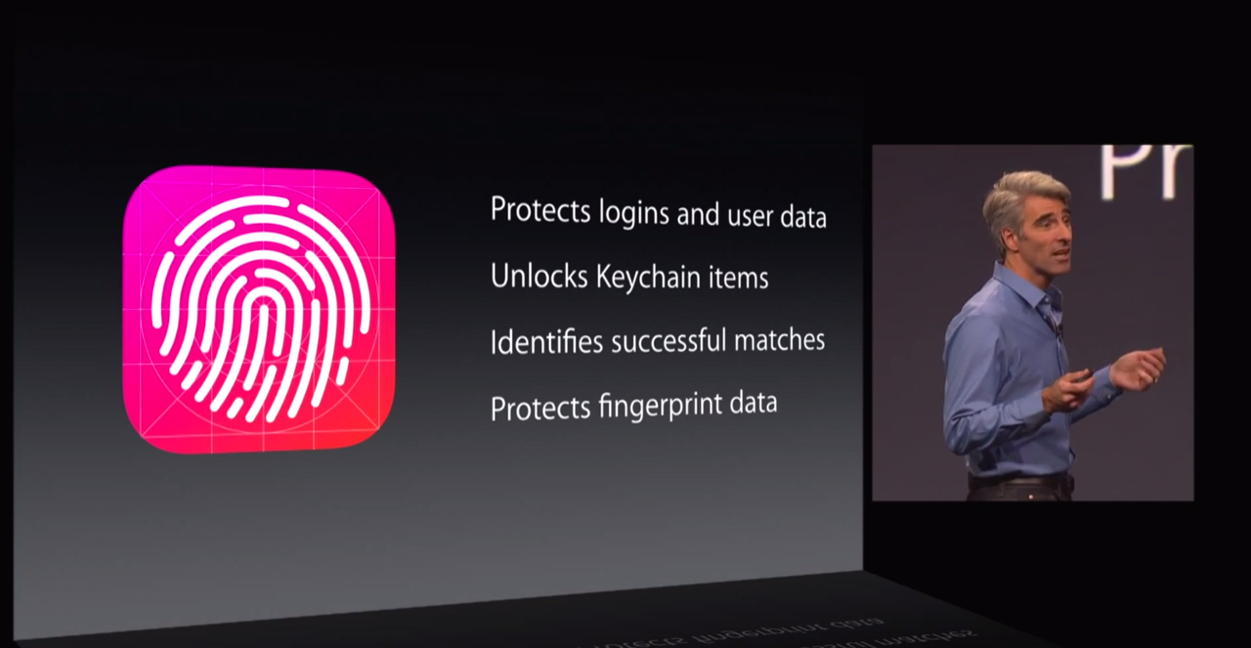 Touch ID em apps de terceiros - WWDC 2014