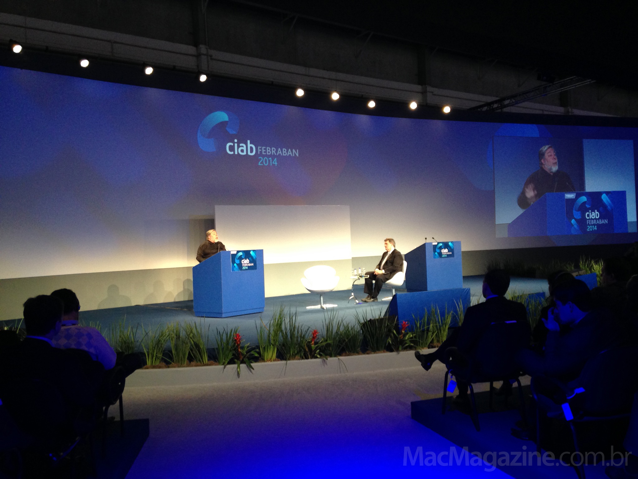 Steve Wozniak no CIAB FEBRABAN 2014