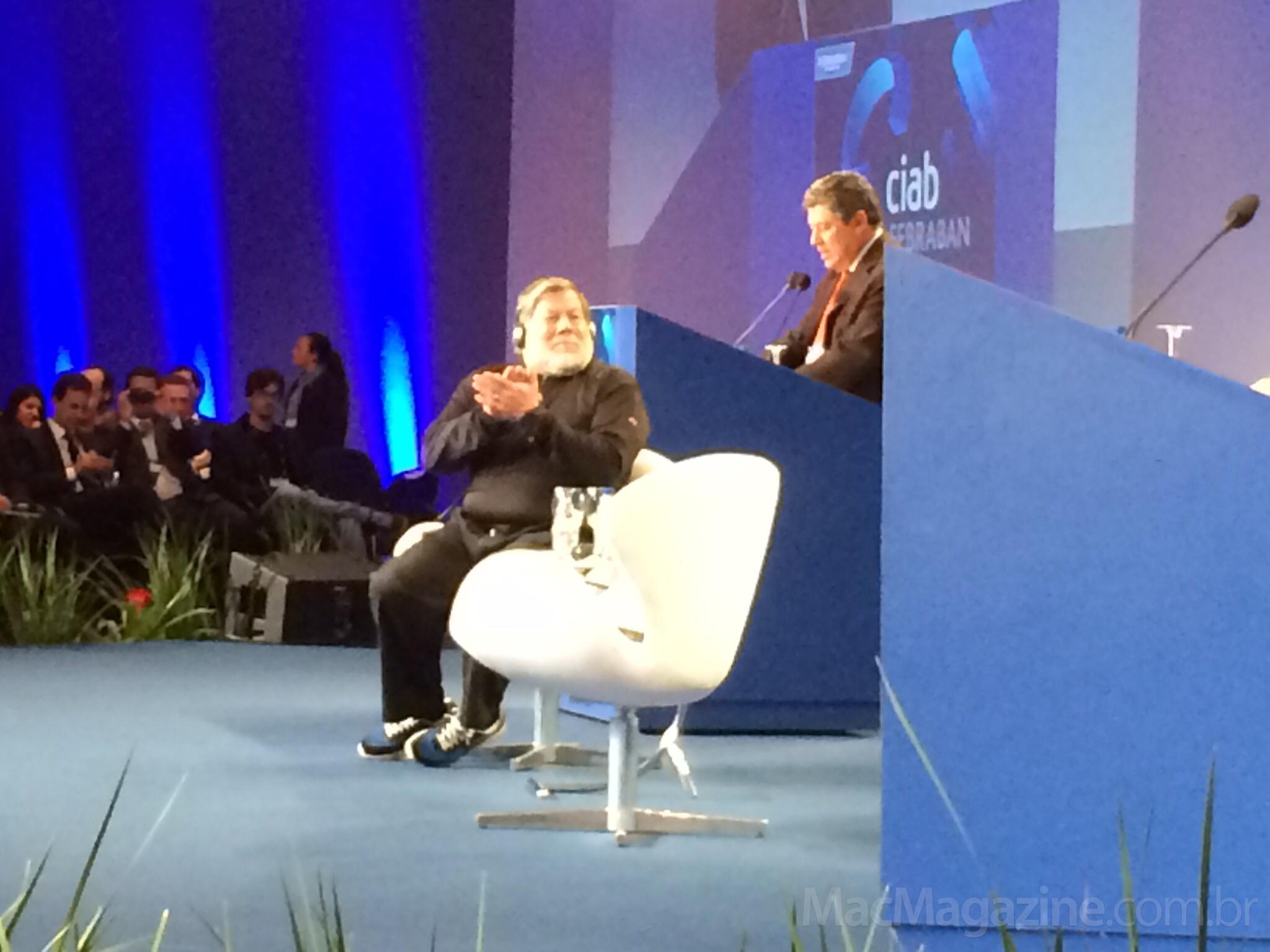 Steve Wozniak no CIAB FEBRABAN 2014