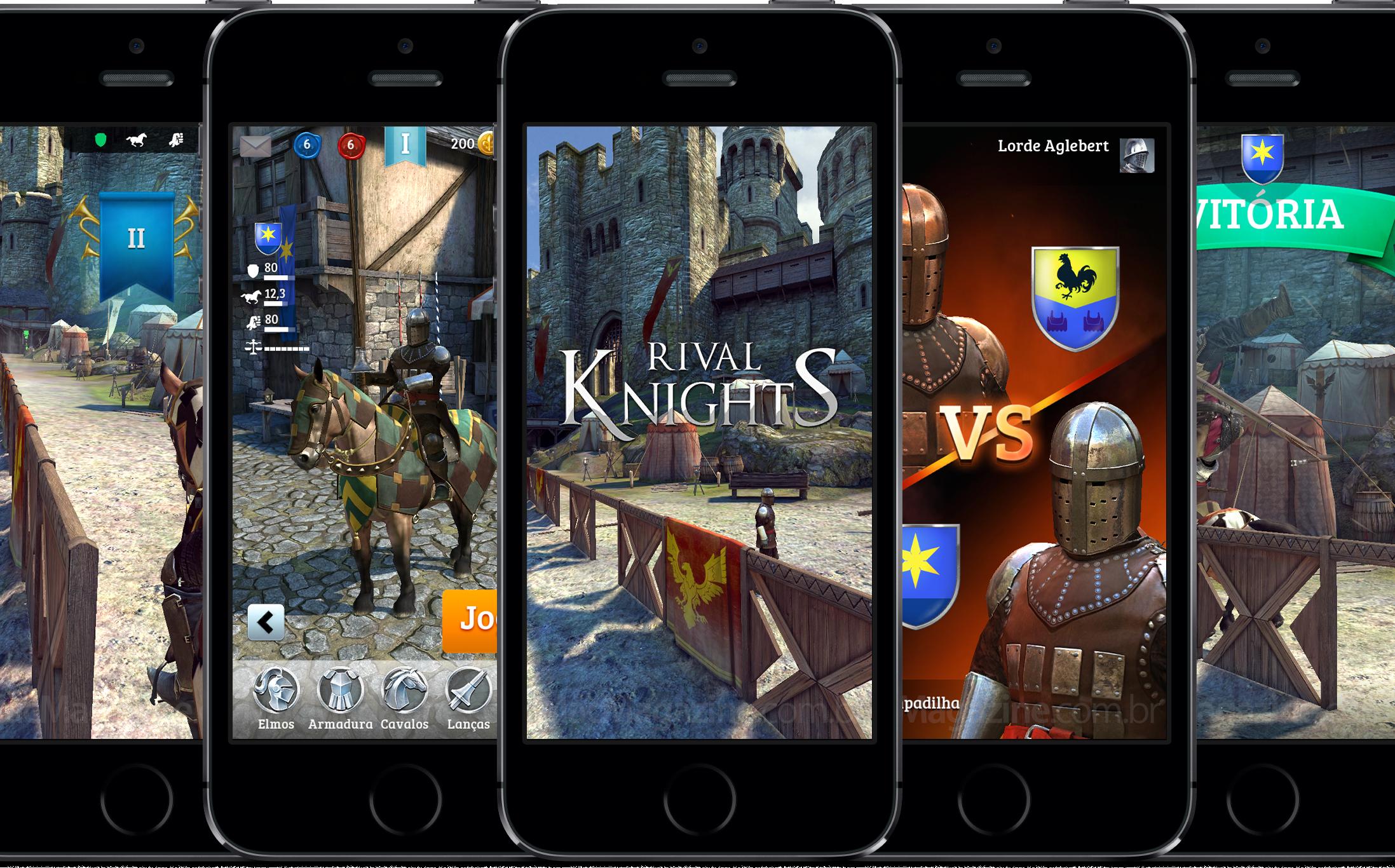 Rival Knights em iPhones