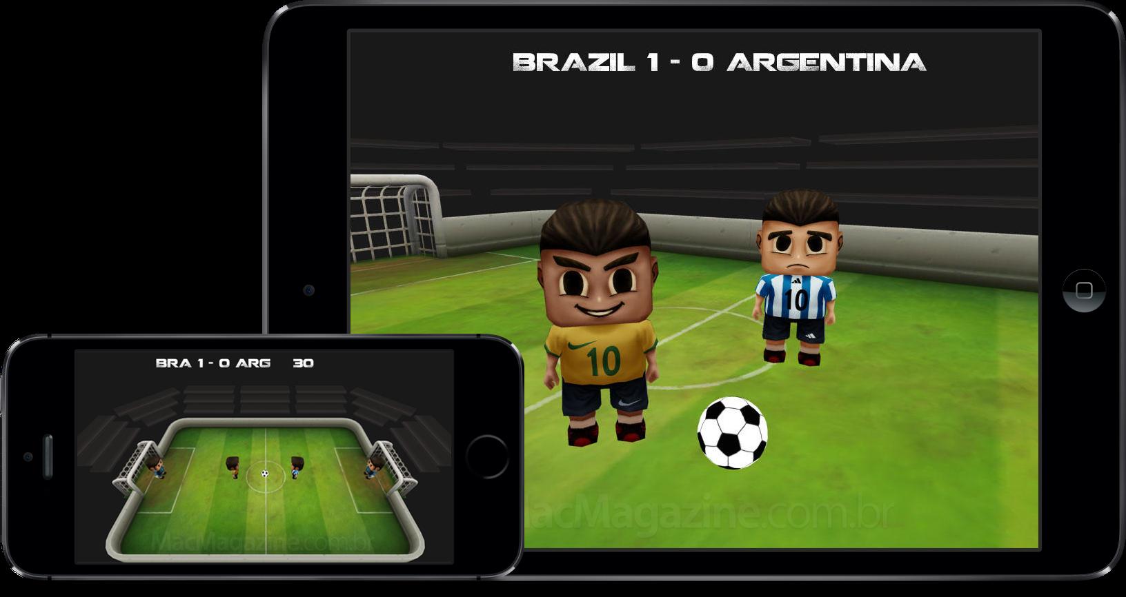 Jogo Tap Soccer para iOS