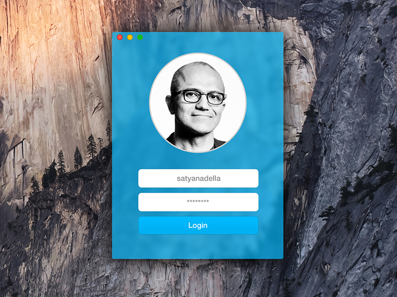 Conceito para o OS X Yosemite - Skype