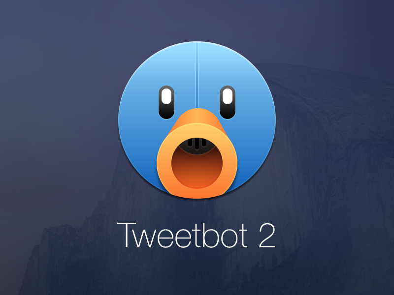 Conceito para o OS X Yosemite - Tweetbot