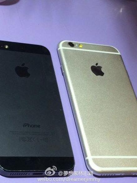 """Suposta carcaça do """"iPhone 6"""""""