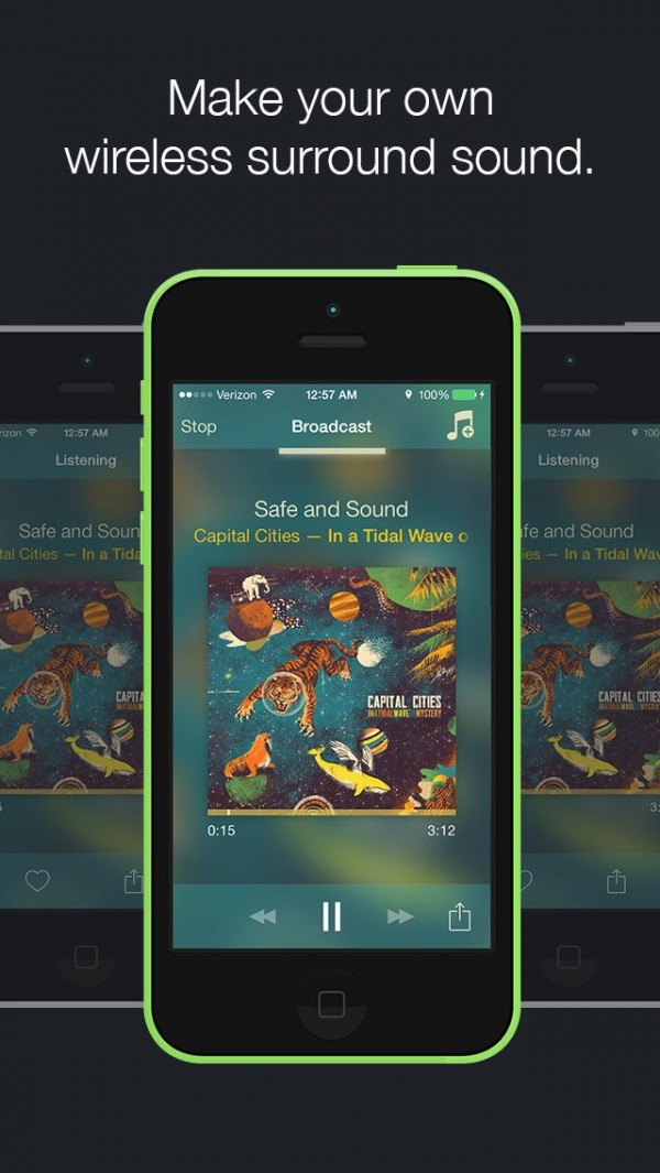 App Audibly para iPhones/iPods touch
