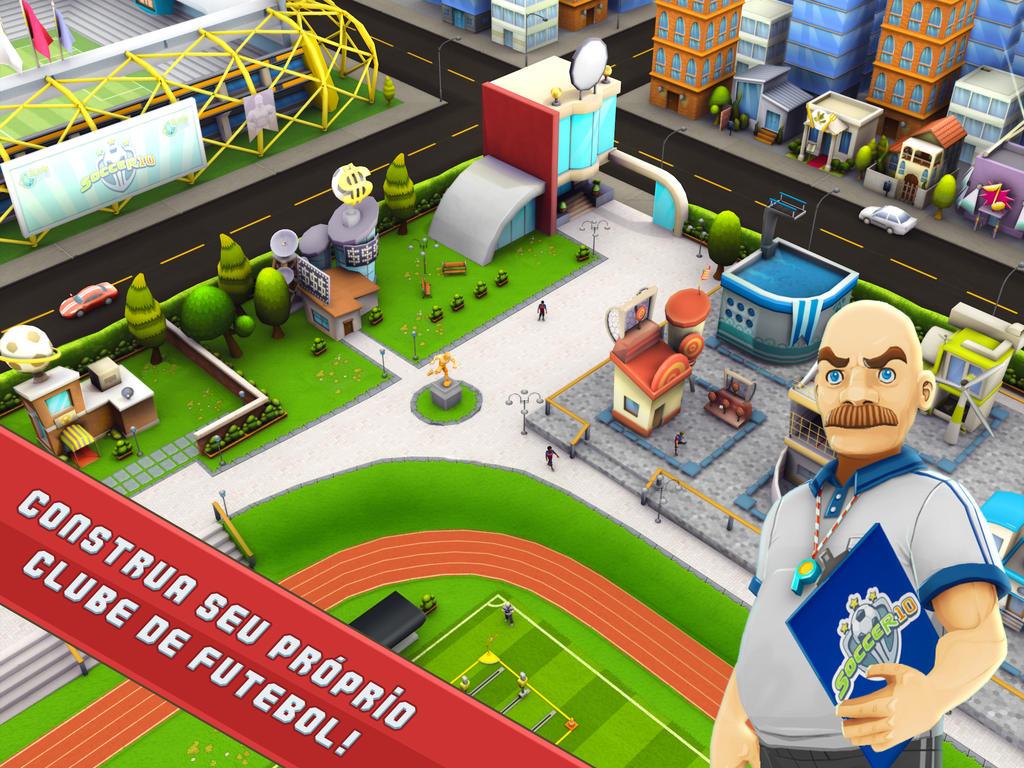 Jogo SocceR10 para iOS