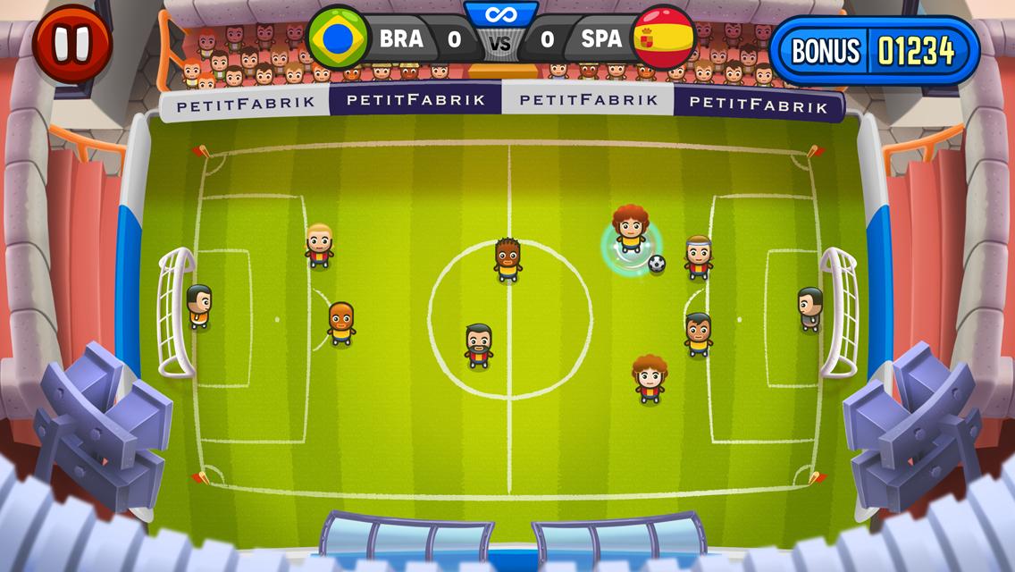 Jogo Mini Champions para iOS