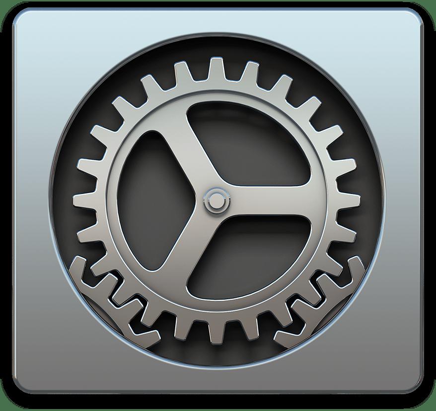 Ícone das Preferências do Sistema (OS X Yosemite)