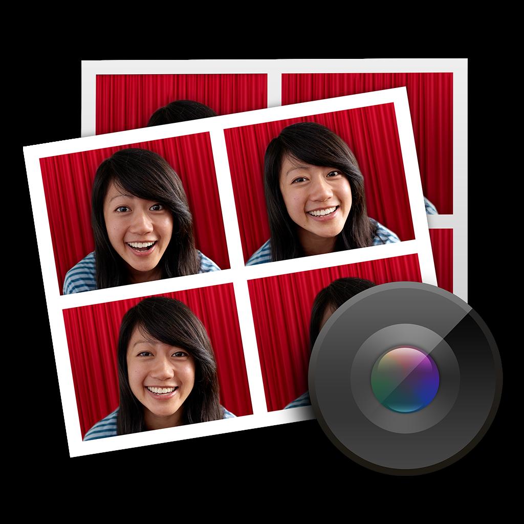 Ícone - Photo Booth do OS X Yosemite