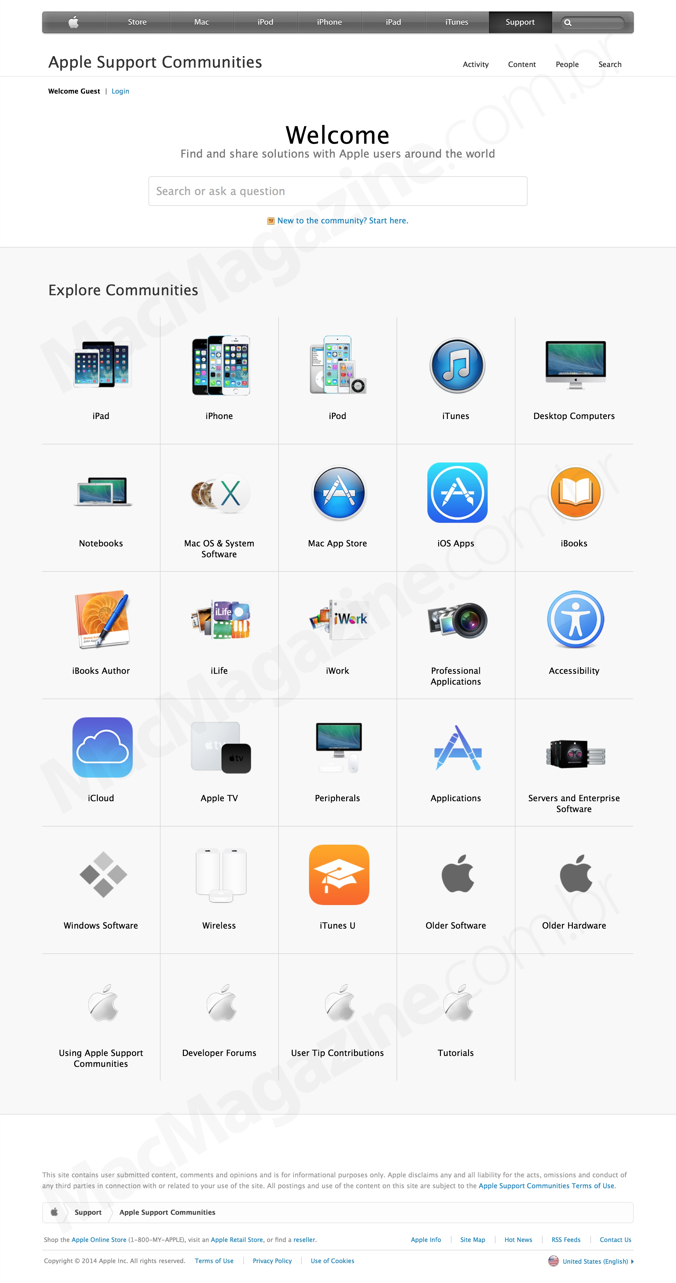 Novo Apple Support Communities