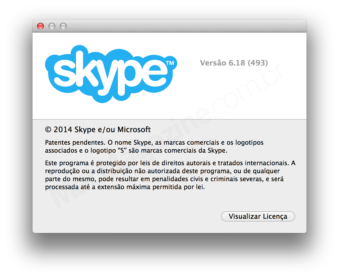 Skype 6.18