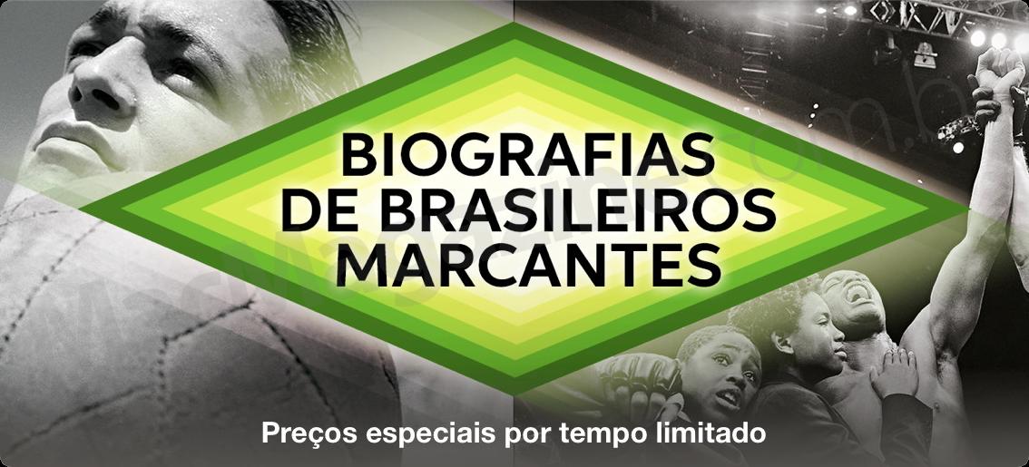 Destaque na iBook Store - Biografias de brasileiros marcantes