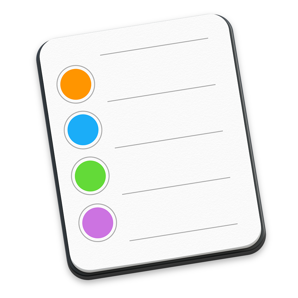 Ícone - Lembretes no OS X Yosemite