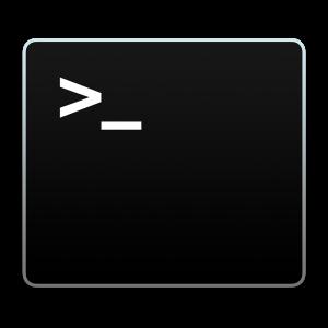Ícone - Terminal no OS X Yosemite