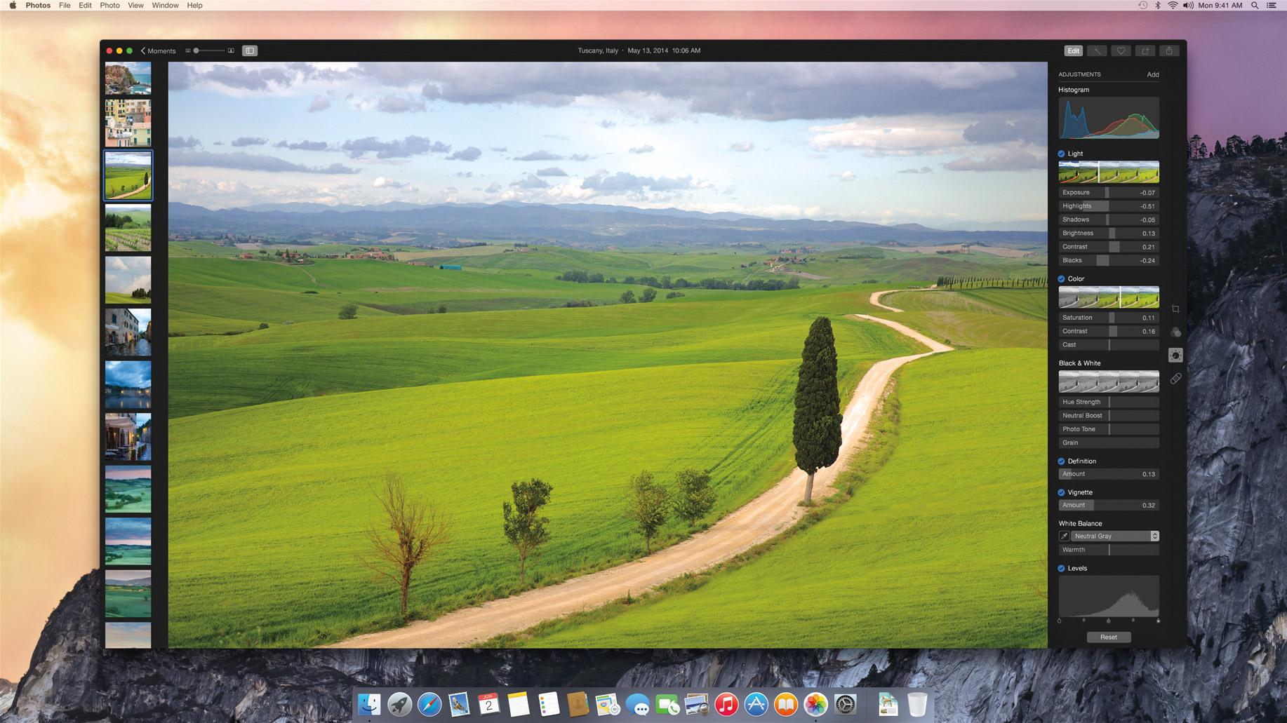 Fotos para OS X