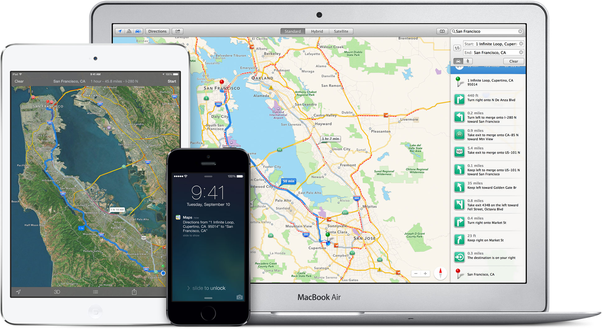 Mapas da Apple