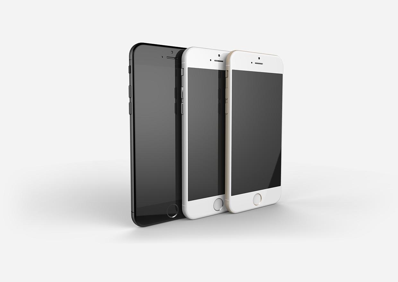 "Mockup do ""iPhone 6"""