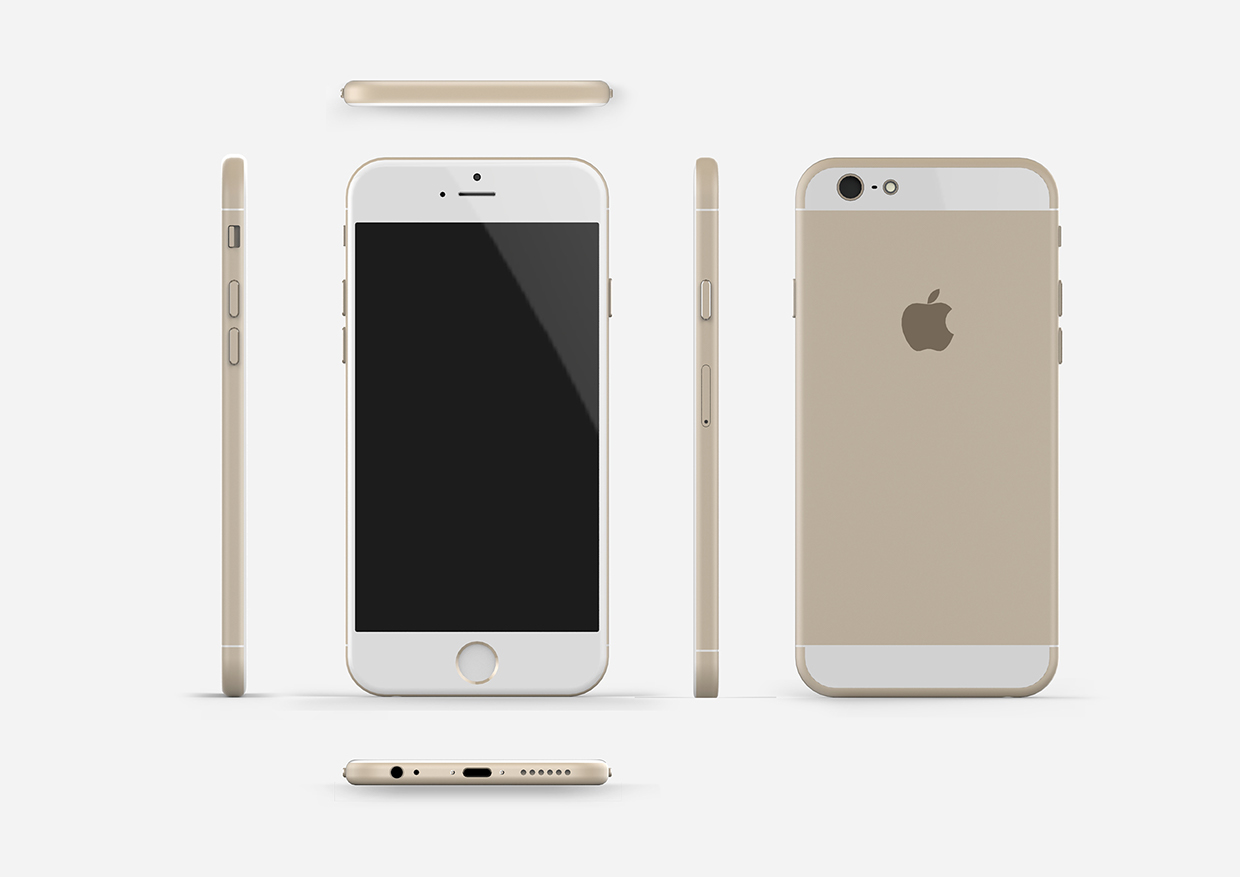 "Mockup do ""iPhone 6"""