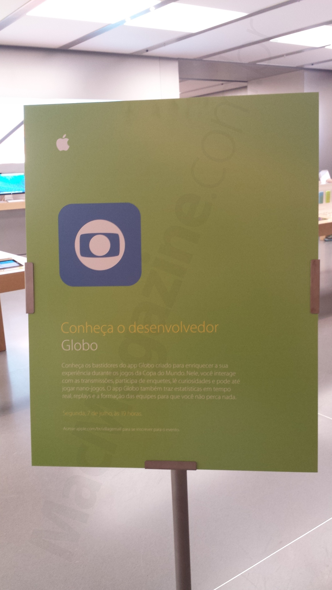 Evento na Apple Store, VillageMall