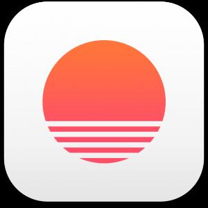Ícone do app Sunrise Calendar para iOS