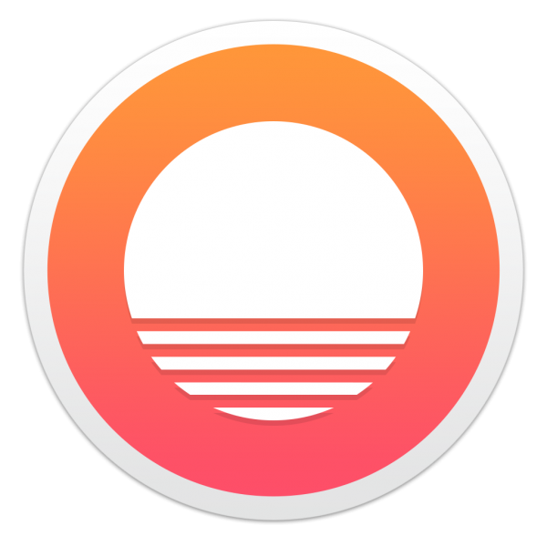 Ícone do app Sunrise Calendar para OS X
