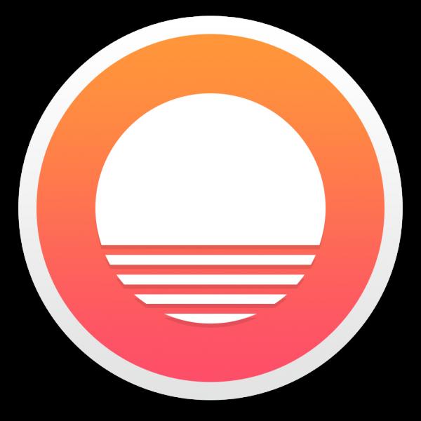 Ícone do app Sunrise Calendar para OS X