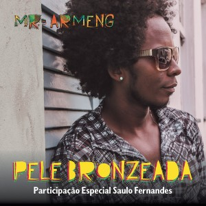 "Capa do single ""Pele Bronzeada"""