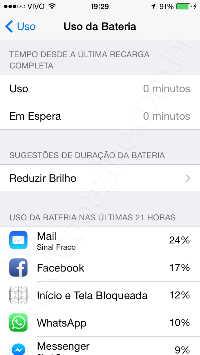 Screenshot do iOS 8 beta 3