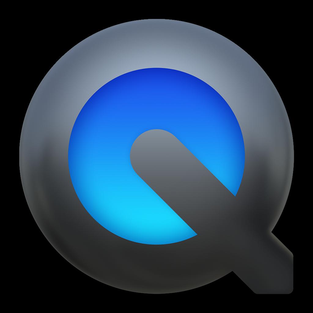 Ícone - QuickTime no OS X Yosemite