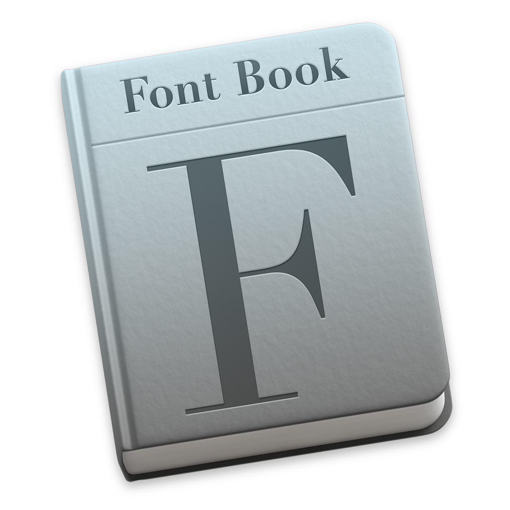 Ícone - Catálogo de Fontes do OS X Yosemite