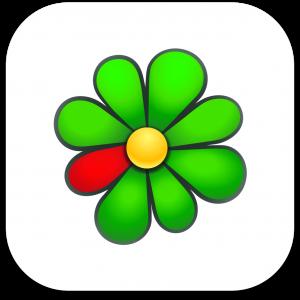 Ícone do app ICQ para IOS