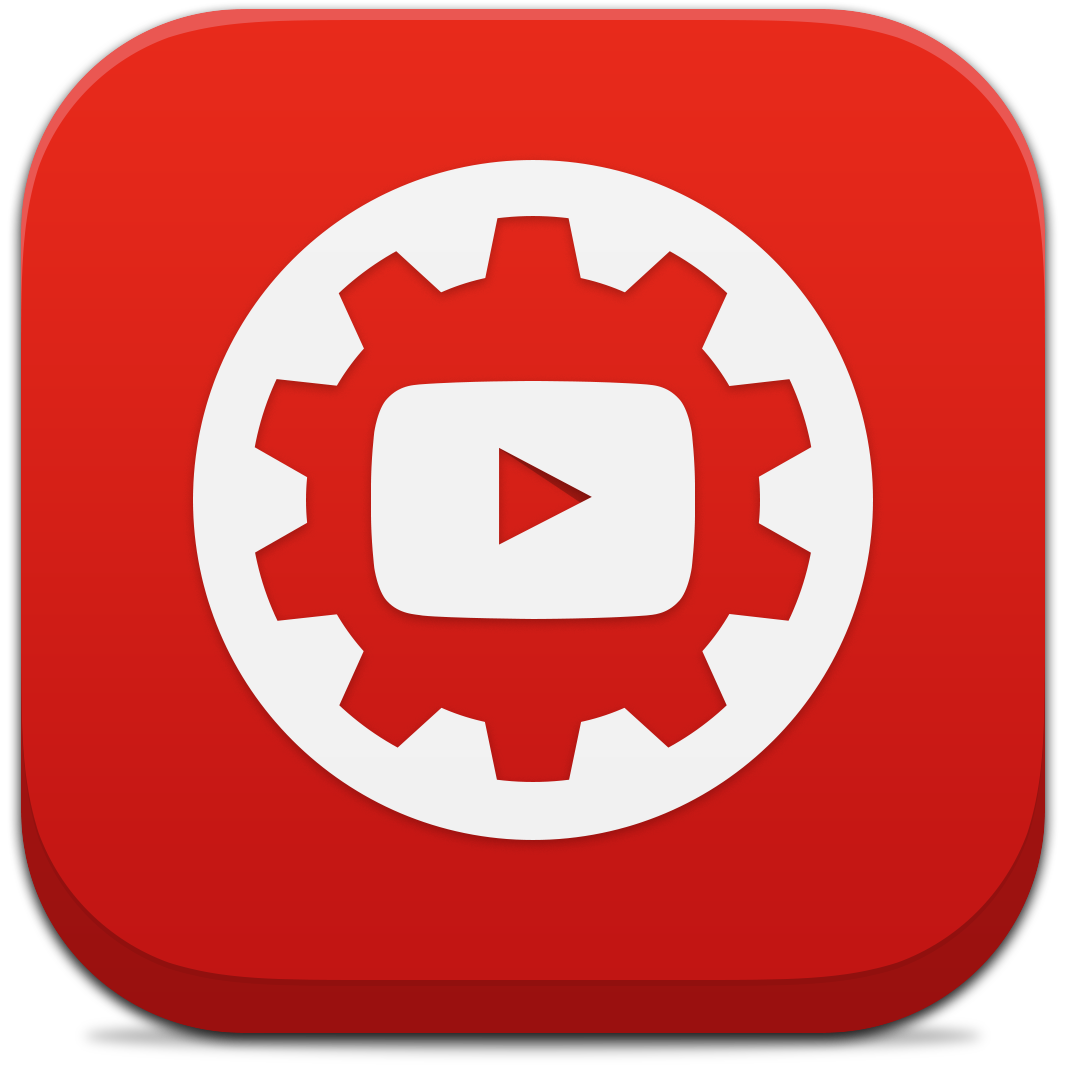 Ícone do app YouTube Creator Studio para iPhones/iPods touch