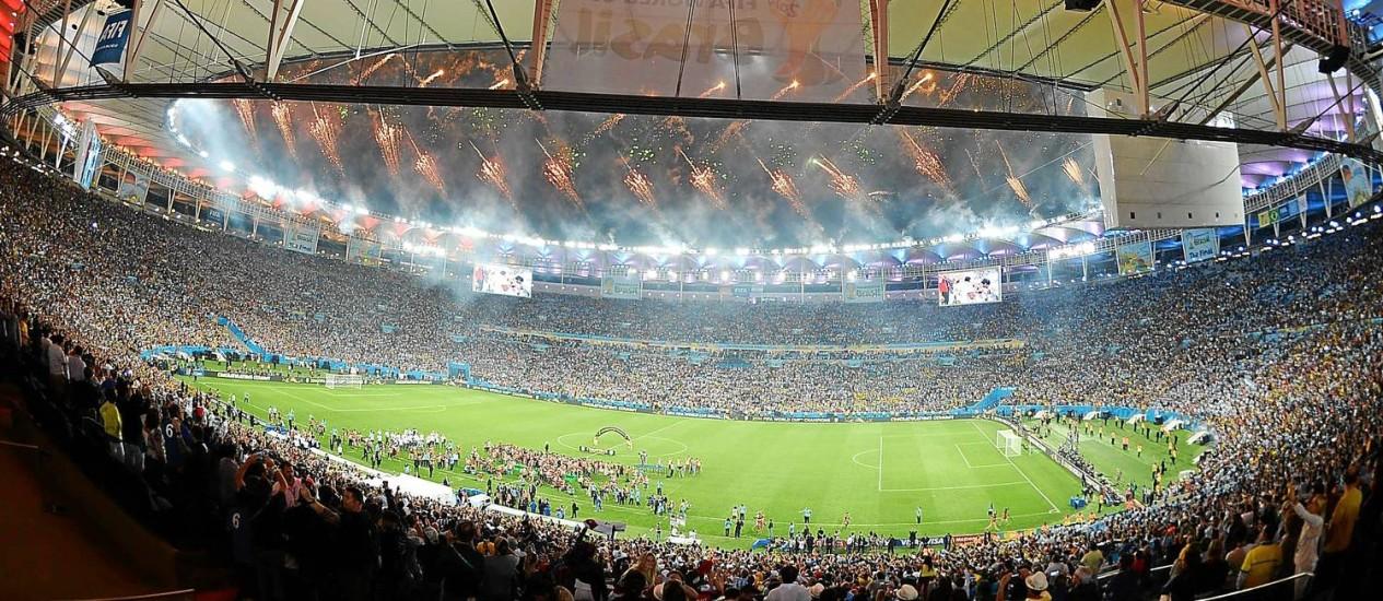 Final da Copa do Mundo 2014 do Brasil