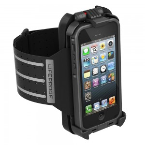 Armband para iPhones 5/5s com cases da LifeProof