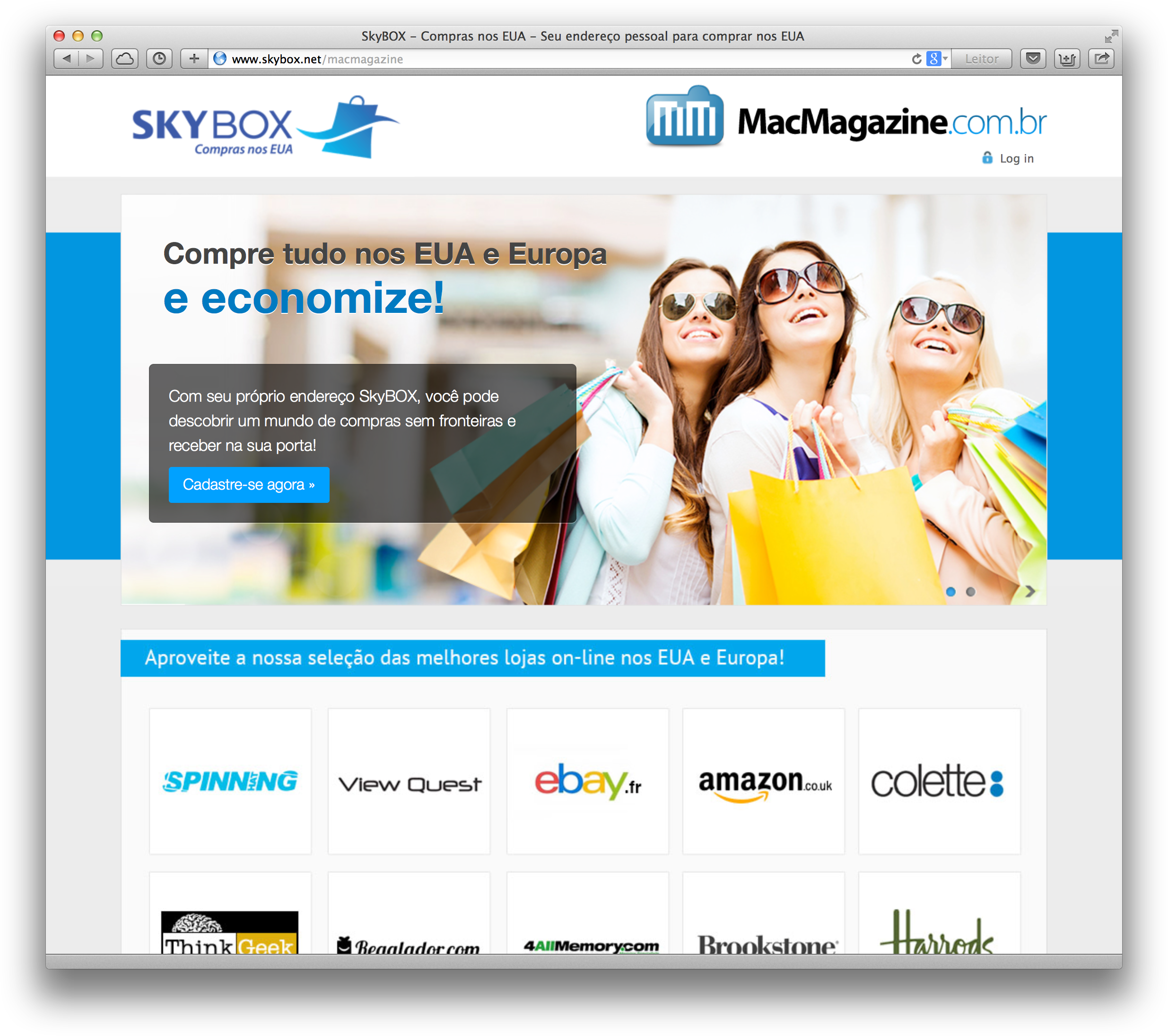 MacMagazine e SkyBOX