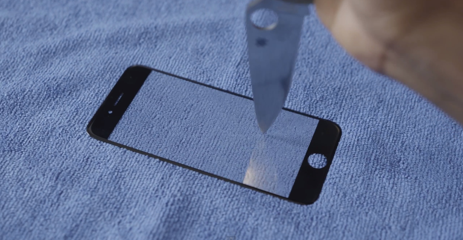"""Suposto painel frontal do """"iPhone 6"""""""