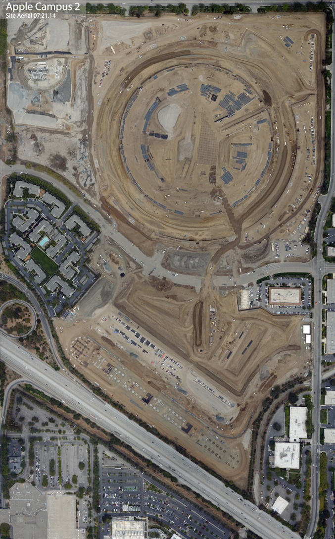 Obras do Apple Campus 2
