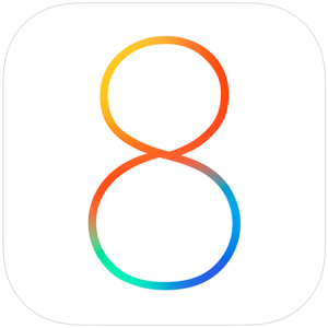 Logo do iOS 8