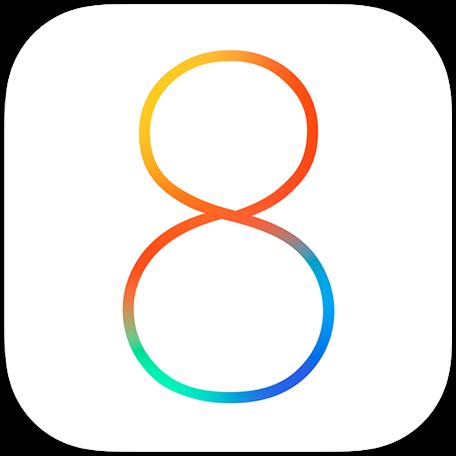 Logo do iOS 8