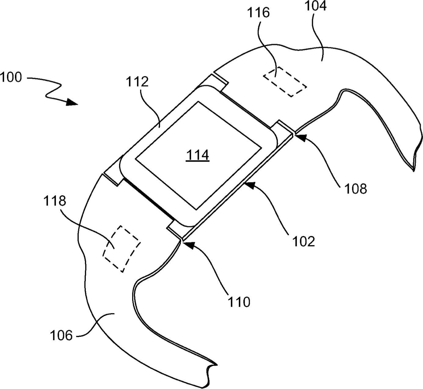 """Patente 8.787.006 (""""iWatch""""), da Apple"""