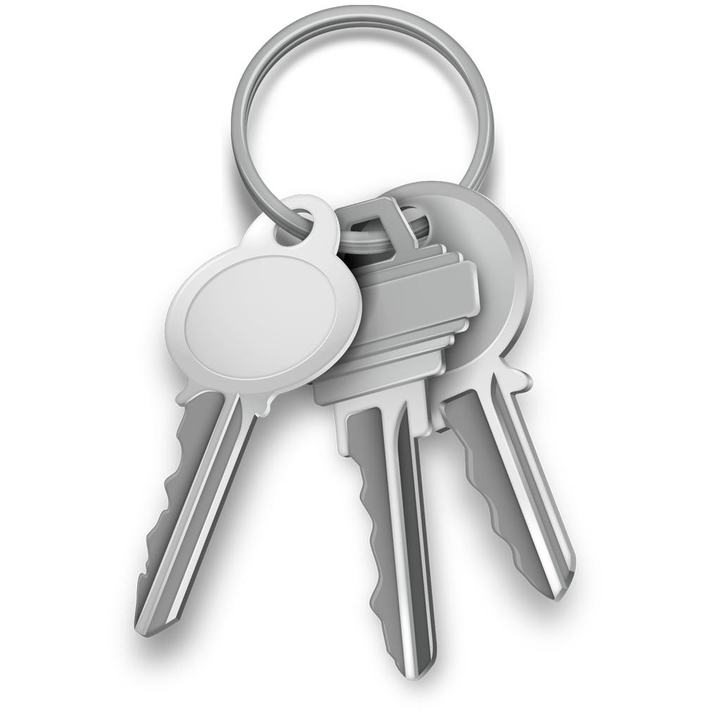 Ícone do Acesso às Chaves (Keychain Access)
