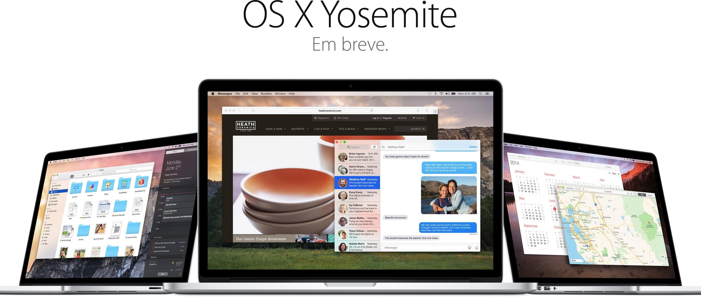 OS X Yosemite (em breve)