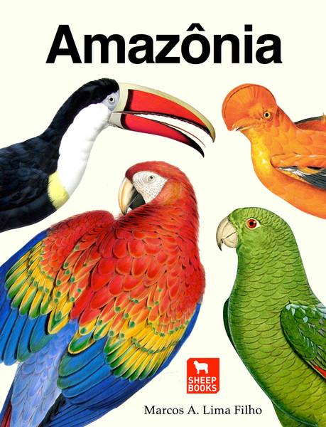 """Capa do livro didático """"Amazônia"""""""