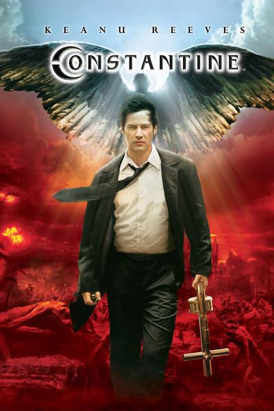 """Cartaz do filme """"Constantine"""""""