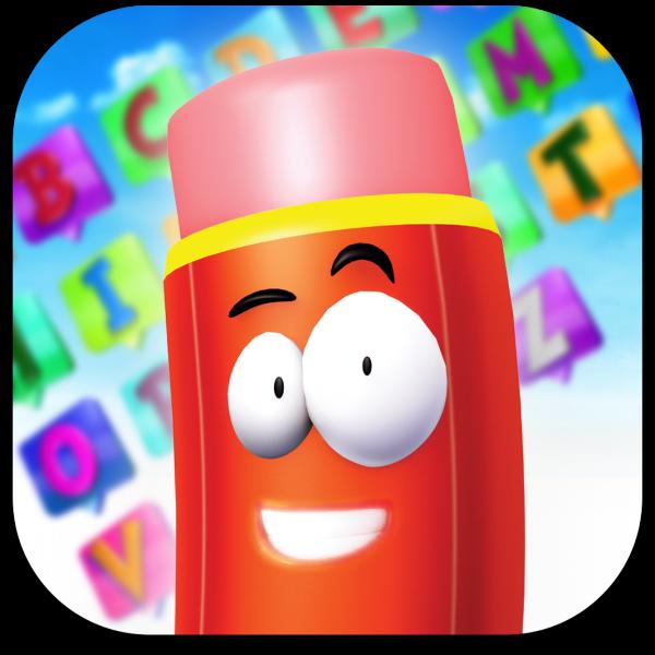 Ícone do app Alfabeto3D para iPads