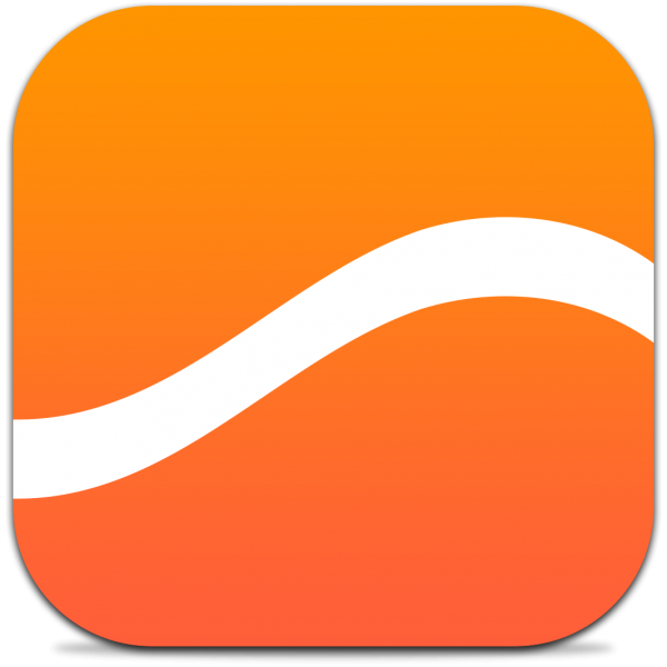 Ícone do app Swell para iPhones/iPods touch