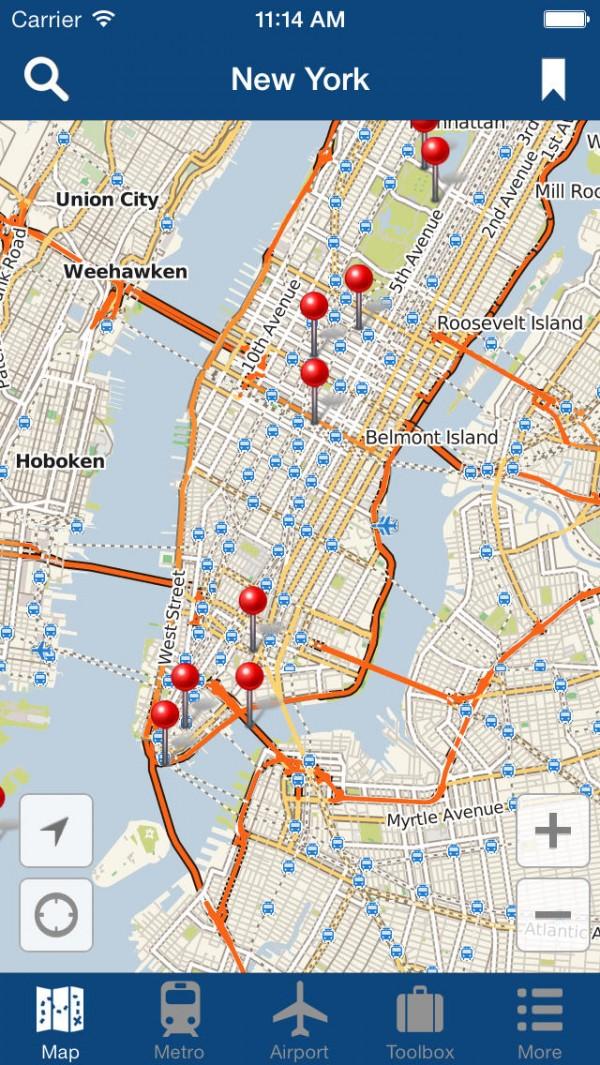 Nova Iorque offline Map
