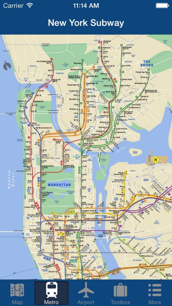 Nova Iorque offline Map width=