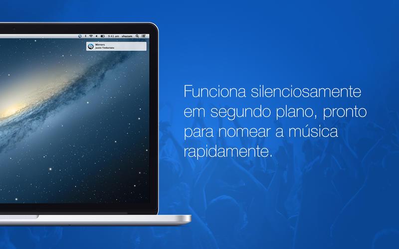 App Shazam para OS X