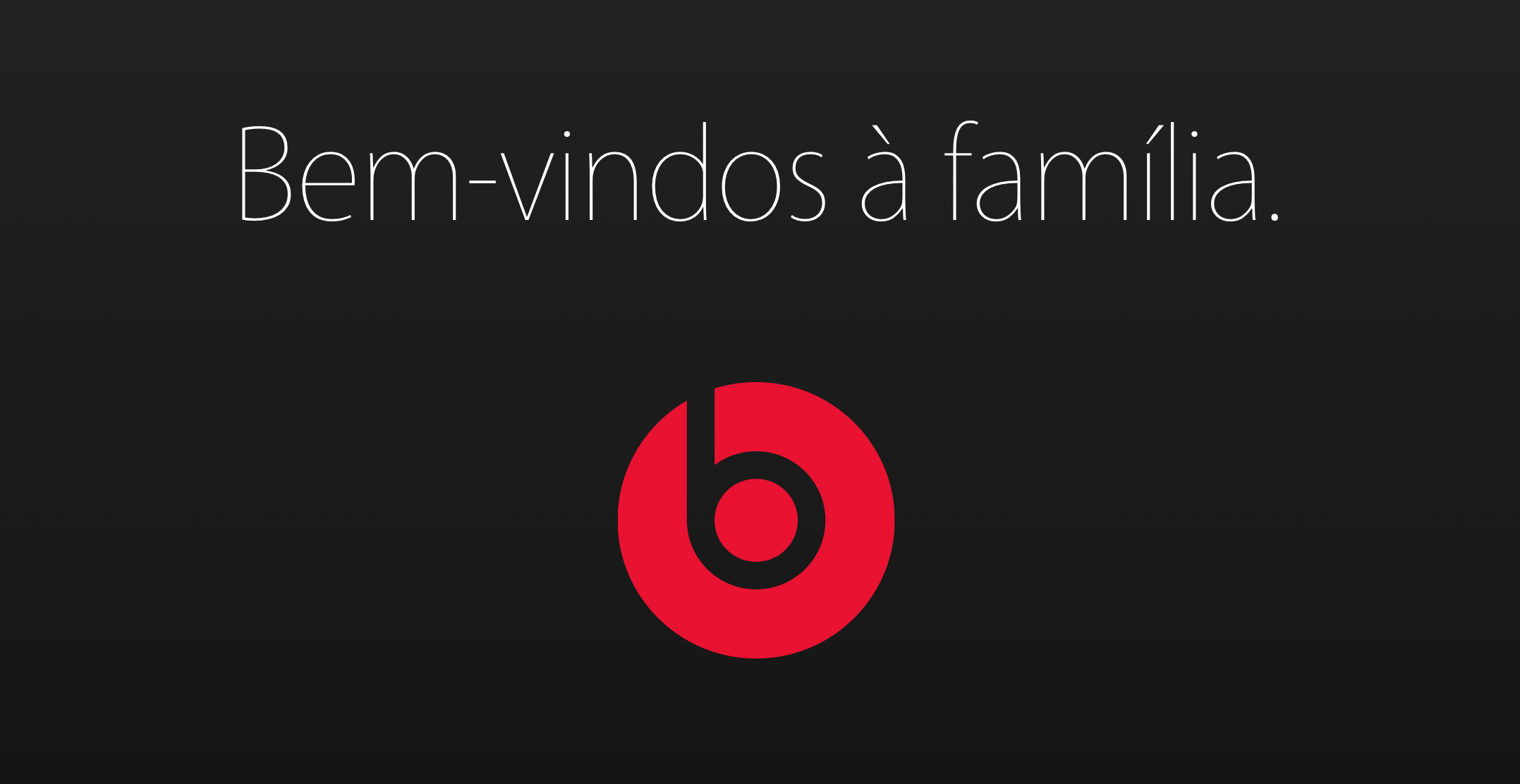 Apple dá boas-vindas à Beats